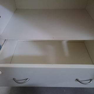【中古】キャビネット 収納棚 【値下げしました!・在庫処分セール中!】 - 家具