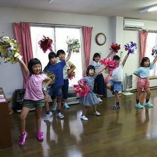 キッズチアダンス生徒募集中。