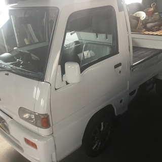 (取引中)旧車(美車) 車庫保管サンバートラック4WD(EL付き...