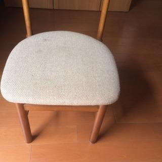 済み、椅子、同じ物3つあり、無料