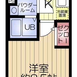 森ノ宮7分 家賃34,500円 共益費8,500円 22.9㎡
