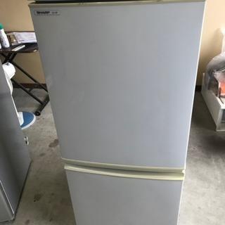 SHARPノンフロン冷凍冷蔵庫★SJ-14-H2008年製★
