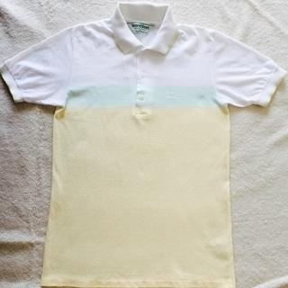 ◆古着◆ ポロシャツ 黄色 半袖 爽やか