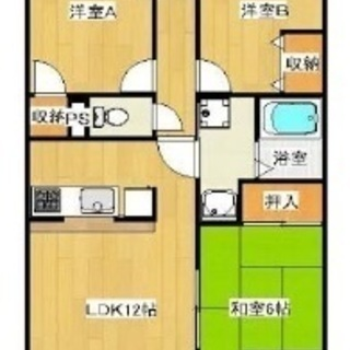 3DKの部屋、プライベートを確保しながら、交流しよう。