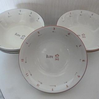 IZAWA ビストロスープ皿 6枚で (^   ^)/