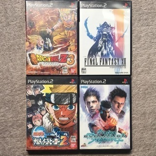 PS2 ソフト4本セット