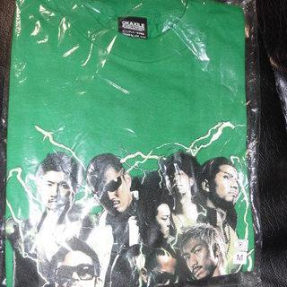 @値下げ@オカザイル緑Tシャツ(Mサイズ)新品・未使用
