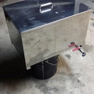 ステンレス製洗浄槽蓋付