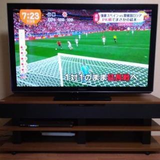 50インチプラズマテレビ&シアターラックセット