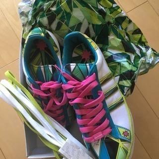 新品 Adidas x emilio pucci コラボスニーカー
