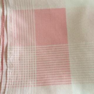 播州織(ピンクのチェック)