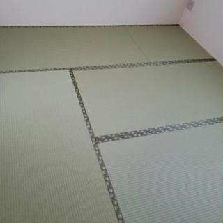 ☆機械でラクラク☆畳の張り替え作業