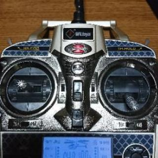 WL toys 6CH プロポのみ AS350 ラジコンヘリ