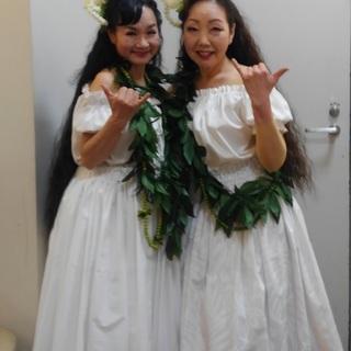 年齢に関係なく誰でも踊ることが出来る☆ハワイアン フラ(フラダン...