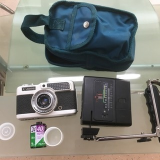 フィルムカメラ コンパクト ハーフカメラ Canon Demi