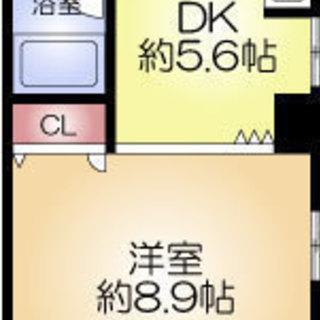 北新地駅8分 家賃35000円 共益費7500円 34㎡