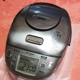 三菱 NJ-UV10炊飯器 炭炊釜 IH 圧力超音波 2010年製
