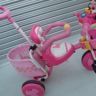ミニーマウスの三輪車