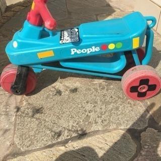 People 公園レーサー 三輪車