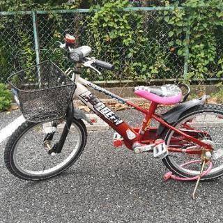 18インチの子供用自転車をゆずります