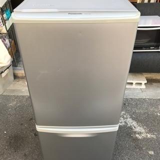 冷蔵庫 パナソニック 一人暮らし 2ドア NR-B144W-S 2...