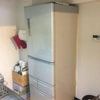 東芝 冷蔵庫(427L・左開き) ブライトシルバー VEGETA