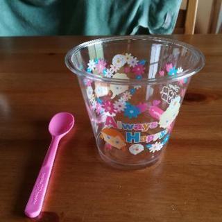 31アイスクリーム トリプルポップ カップ&スプーン アナと雪の女王