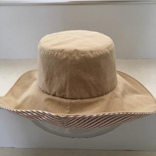 夏 つば有り 帽子