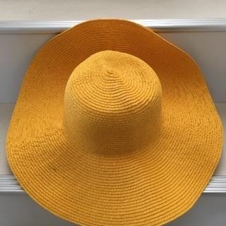【値下げ】夏に! 黄色 麦わら帽子