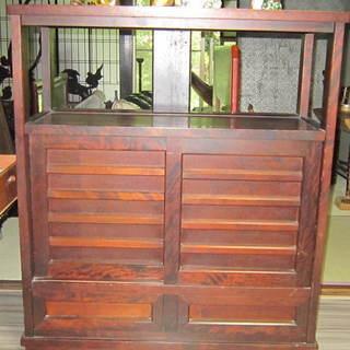 北海道 古民芸家具 飾り棚