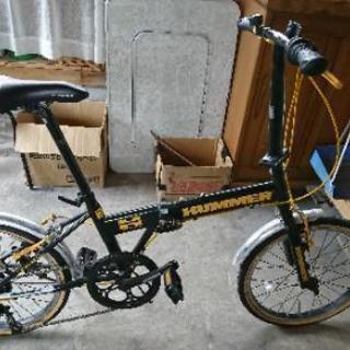 HUMMER 折り畳み自転車