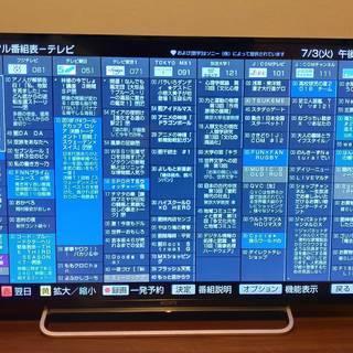 SONY BRAVIA 48インチテレビ (KDL-48W600B)