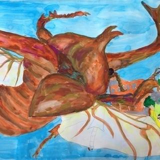 まだ間に合う☆H30夏休みの課題・絵画&ポスター教室★生徒さん【追加】募集中の画像