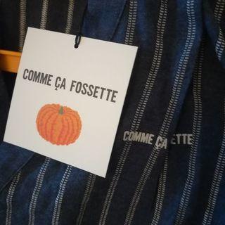 ♫送料込!新品Comme Ca Fossetteコムサフォセット甚平オール♫ - 子供用品
