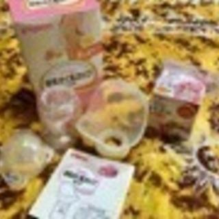 ☆ピジョン Pigeon 母乳さく乳カップセット&乳頭保護器1個☆
