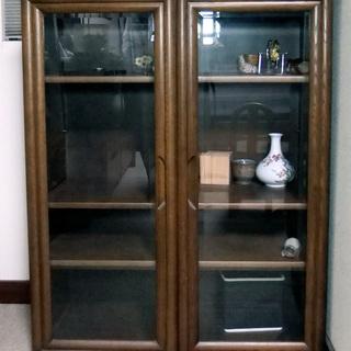 【カリモクの食器棚】事務所リフォームのため格安でお譲りします
