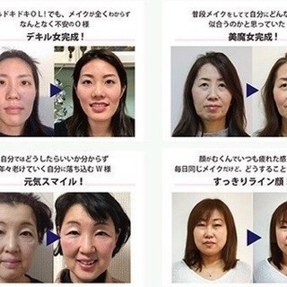 AIを使った顔分析システムでパーソナルメイクレッスン - 大阪市