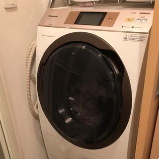 2017年製 ドラム式洗濯機 NA-VX5E4L