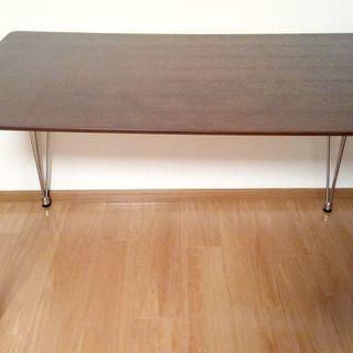 ダイニングテーブル 4人用 (ニトリ クーボ120DBR)