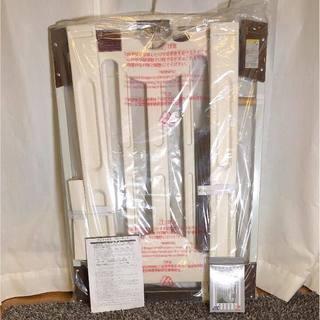 【新品・未使用】階段上アダプター付 ベビーゲート 取付幅68〜94cm