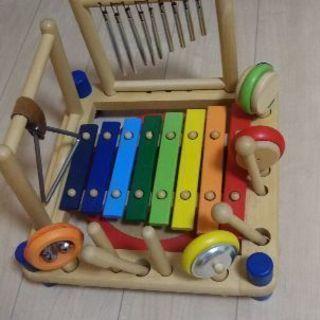 木のおもちゃ・楽器・I'mTOY ミュージックステーション