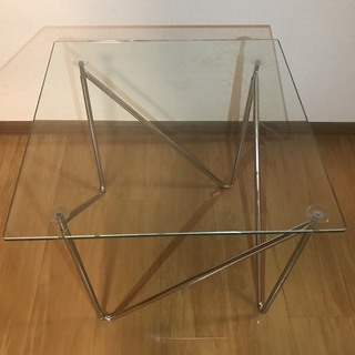 Francfranc フランフランのガラステーブル
