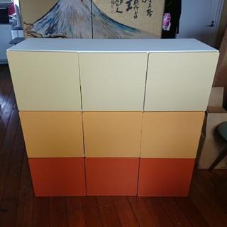 3色ボックスロッカー型チェスト♥️可愛い♥️