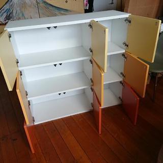 3色ボックスロッカー型チェスト♥️可愛い♥️ - 家具