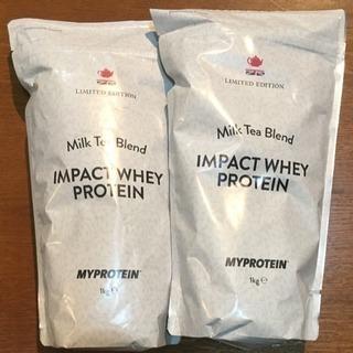 未開封 マイプロテイン 1kg×2個 ミルクティー