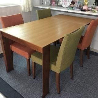 ダイニングテーブル×椅子4脚