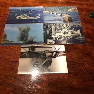 ☆新品☆海上自衛隊 3Dはがき 5枚セット