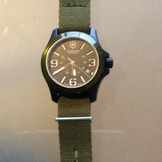 値下げしました。ビクトリノックス 腕時計 オリジナル 24151...