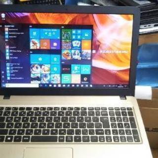 必見!ほぼ新品。保証残りあり。実使用2週間位 Windows10モ...