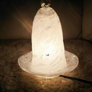 【値下】琉球ガラスのランプ